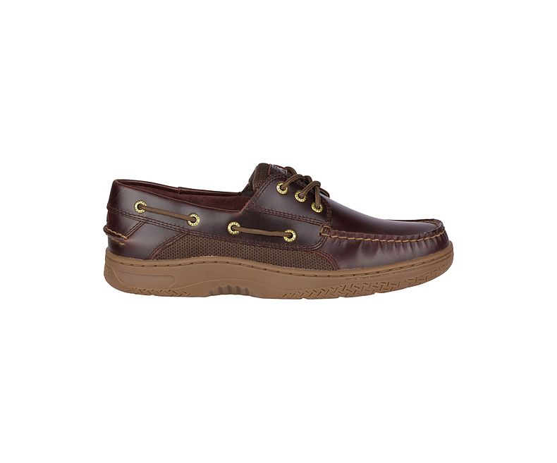 Sperry Men's Billfish 3-Eye Boat Shoe - Amaretto