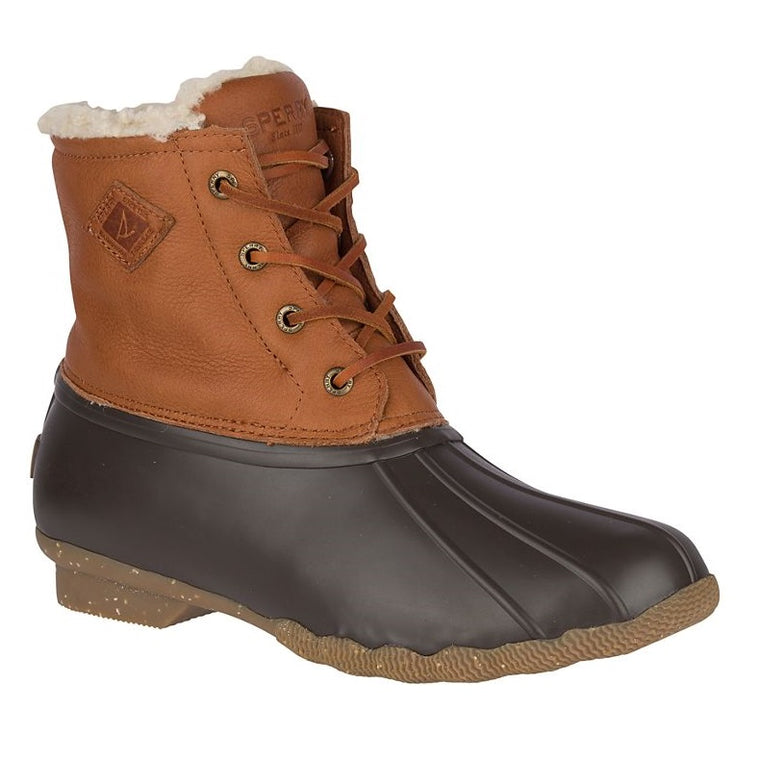 Sperry Women's Saltwater Winter Luxe Duck Boot - Tan