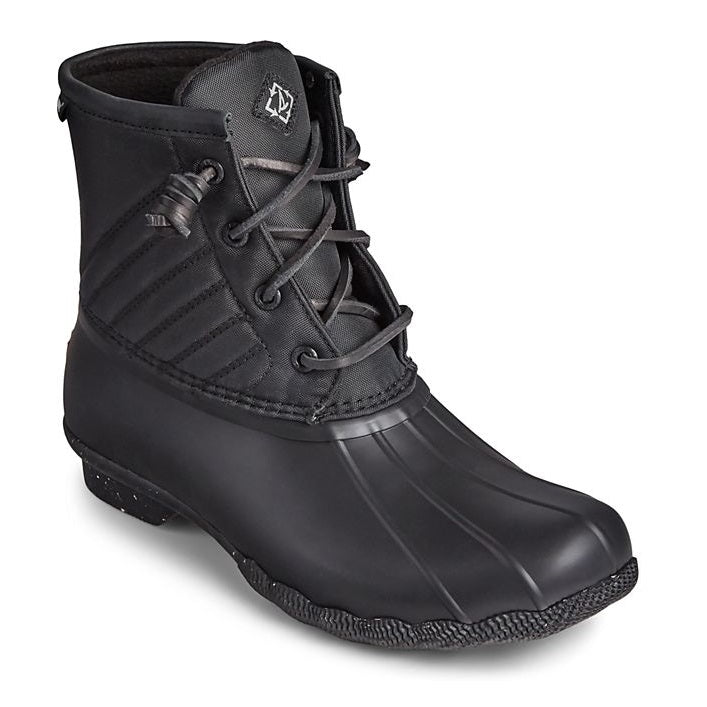Sperry Women's Saltwater Bionic Duck Boot - Black