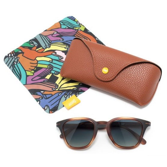 Sunski Andiamo Sunglasses - Tortoise Forest