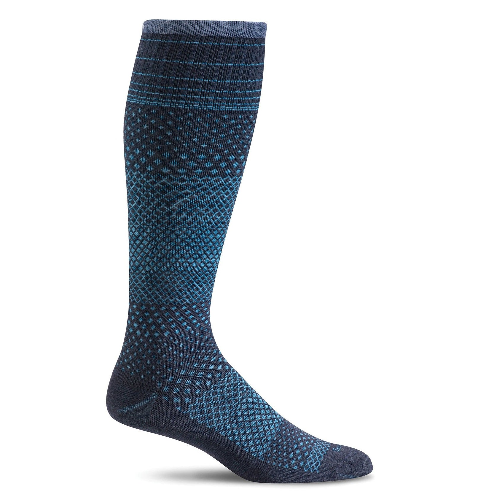 Sockwell Women's Micro Grade Graduted Compression Socks - Navy
