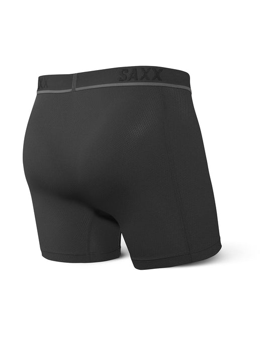 SAXX Men's Kinetic HD Boxer Brief Underwear - Blackout
