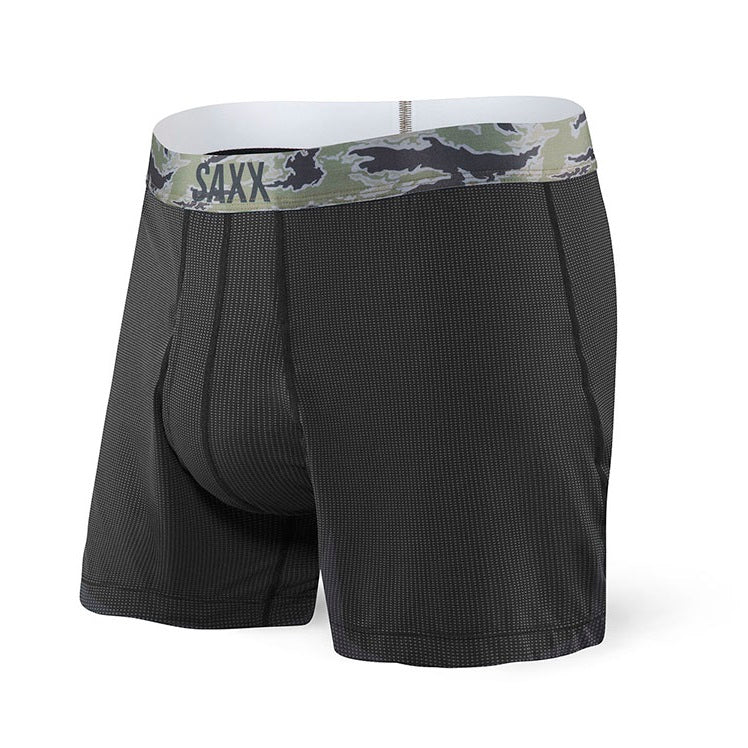 SAXX Quest Loose Fit Boxer - Black