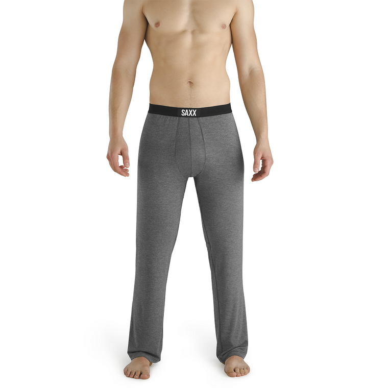 SAXX Men's Sleepwalker Pant Lounge Pant - Charcoal Heather