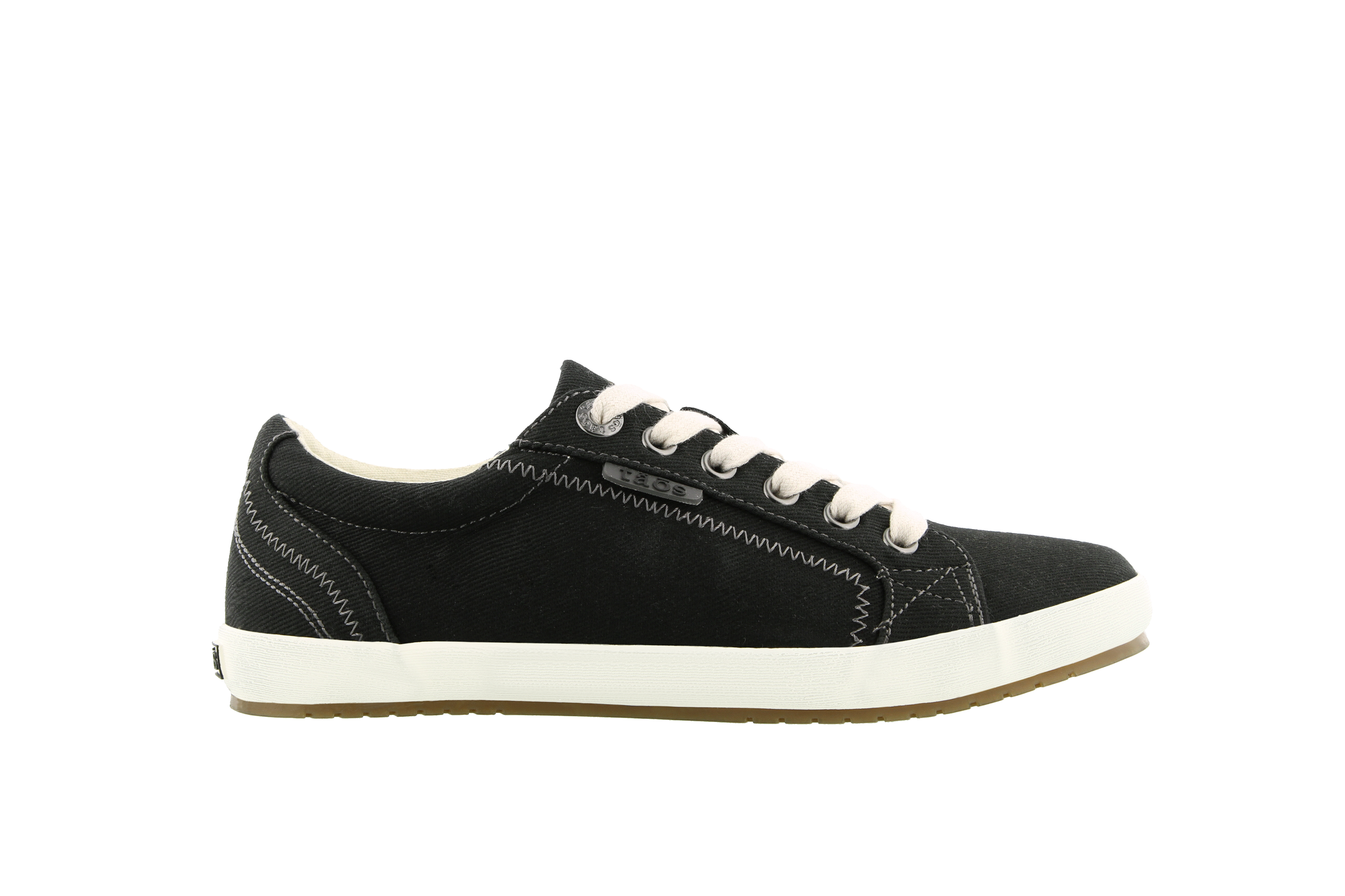 Women's Star Sneaker - Black Canvas