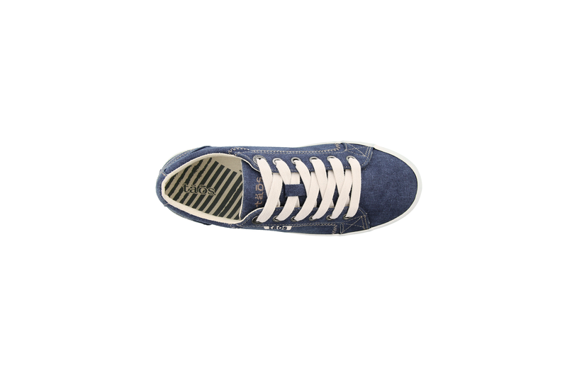 Women's Taos Star Sneaker - Blue Wash Canvas