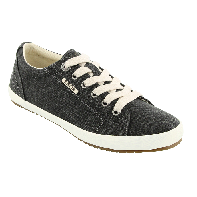 Women's Star Sneaker - Charcoal Wash Canvas