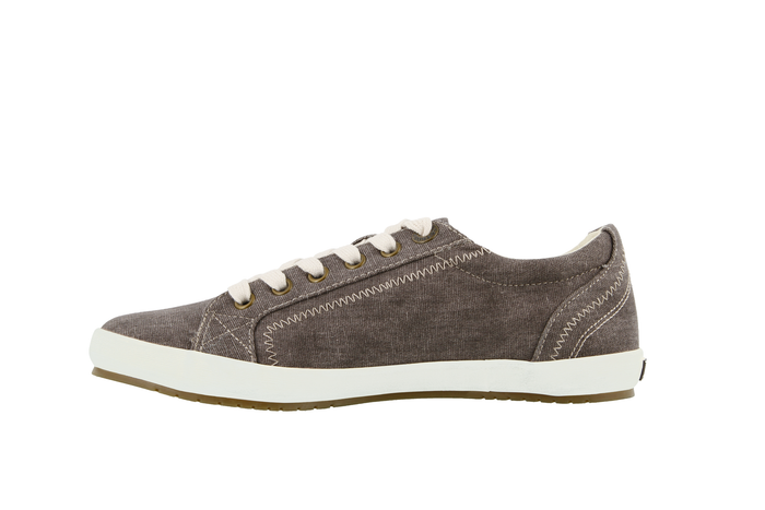 Women's Taos Star Sneaker - Chocolate Wash Canvas