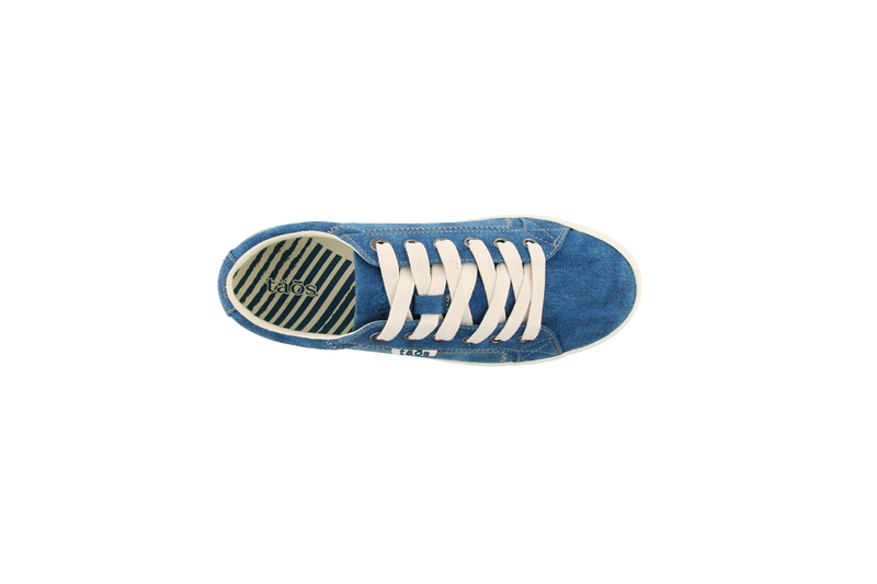 Women's Taos Star Sneaker - Turquoise Wash Canvas