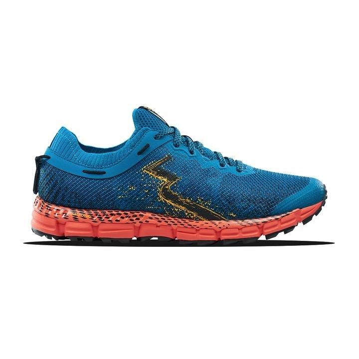 361 Degrees Men's Taroko 2 Running Shoes - Mykonos Blue/Raft