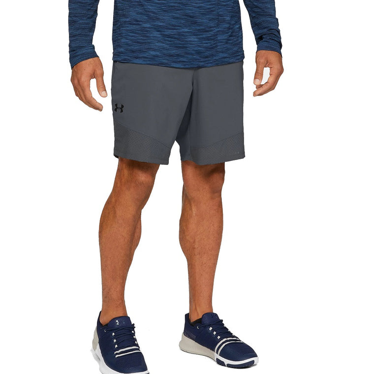 Under Armour Men's UA Vanish Woven Shorts - Pitch Gray/Black