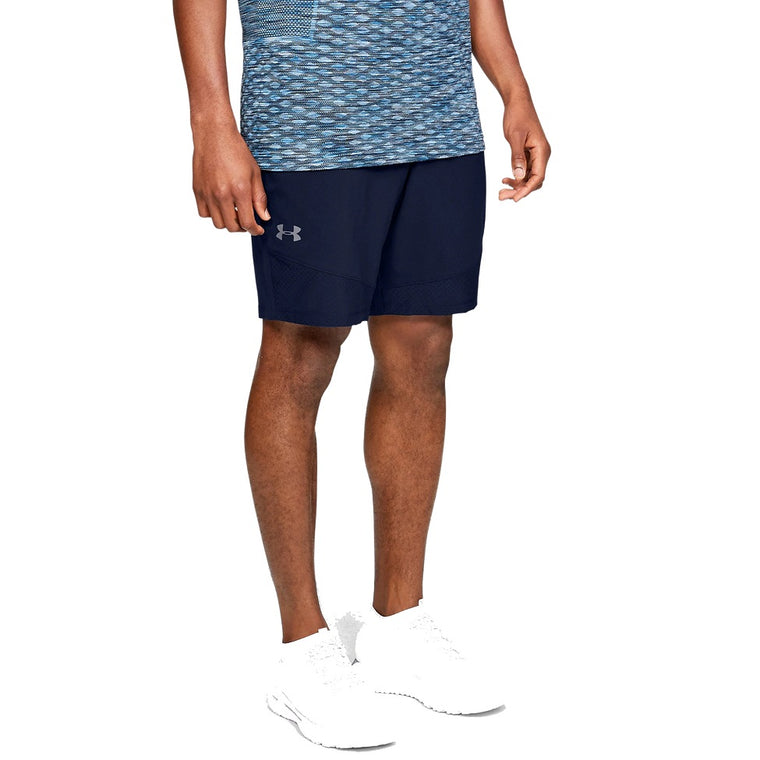Under Armour Men's UA Vanish Woven Shorts - Academy/Pitch Gray