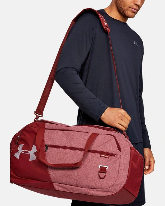 Under Armour UA Undeniable Duffle 4.0 Medium Duffle Bag - Cordova/Silver