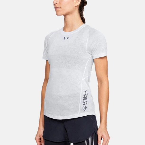 Under Armour Women's UA Breeze Short Sleeve - Halo Gray
