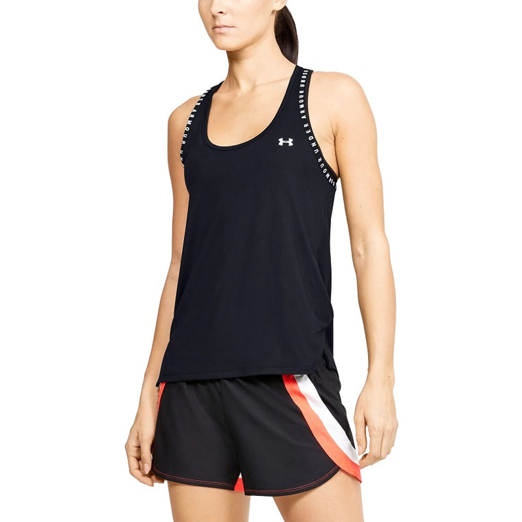 Under Armour Women's UA Knockout Tank - Black/Black