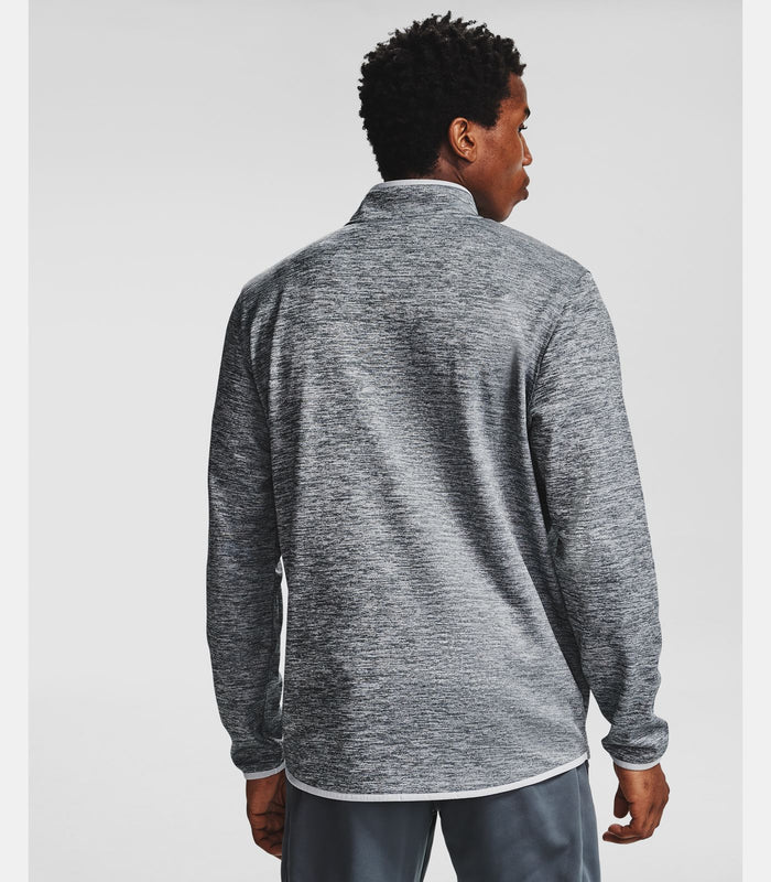 Under Armour Men's Armour Fleece ½ Zip - Halo Gray