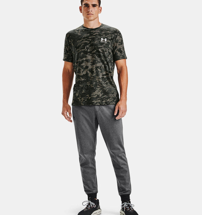 Under Armour Men's UA ABC Camo Short Sleeve - Baroque Green/White