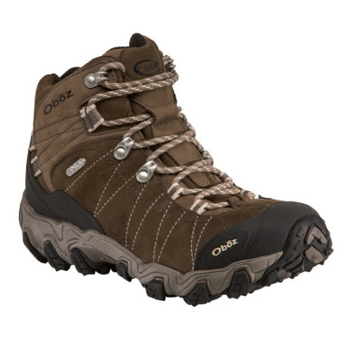 Women's Oboz Bridger Mid Waterproof - Walnut