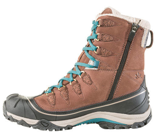 "Women's Oboz Sapphire 8"" Insulated Waterproof Boot - Chestnut"