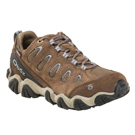 Women's Oboz Sawtooth II Low Waterproof - Brindle/Tradewinds Blue