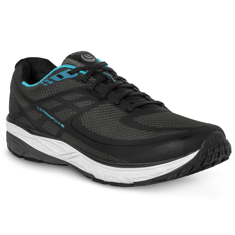Women's Topo Athletic Ultrafly 2 Road Running Shoes - Black/Blue