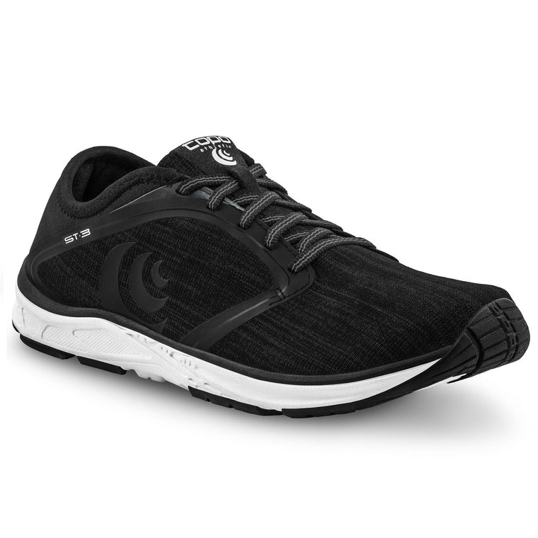 Women's Topo Athletic ST-3 Road Running Shoes - Black/Grey