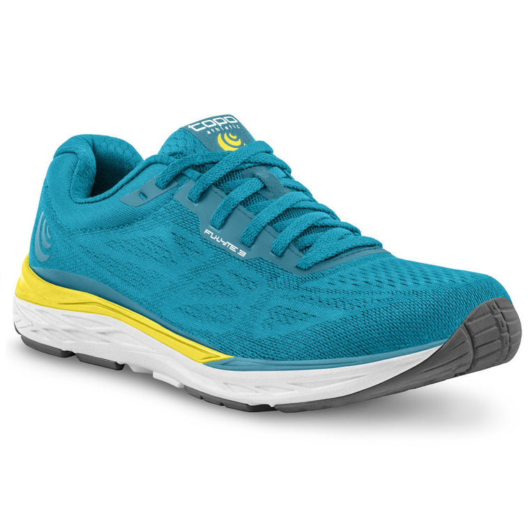 Women's Topo Athletic Fli-Lyte 3 Road Running Shoes - Aqua/Yellow