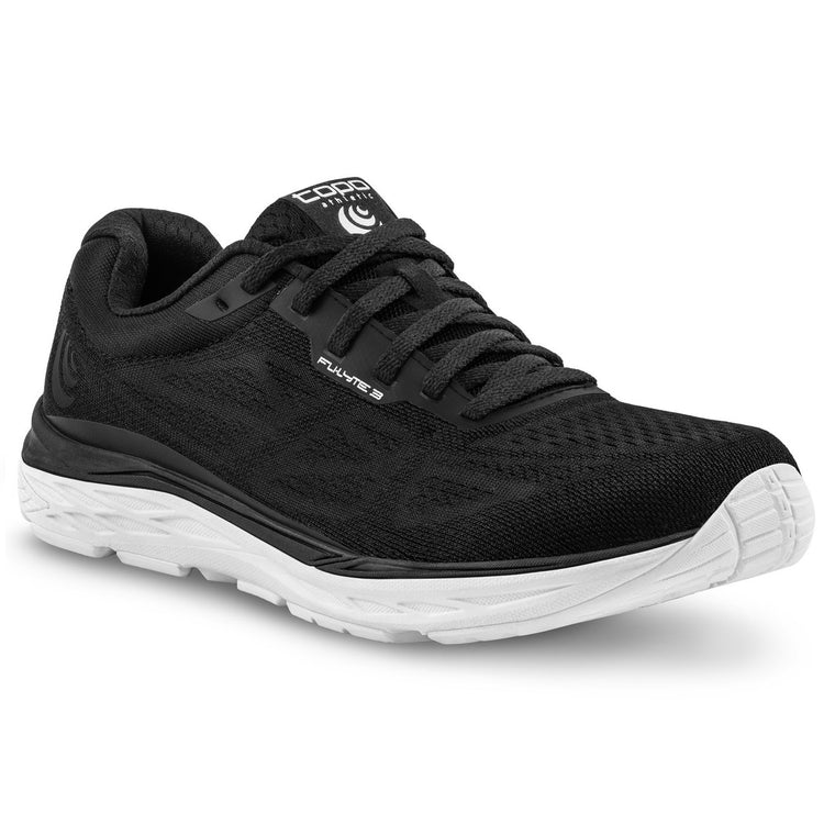 Women's Topo Athletic Fli-Lyte 3 Road Running Shoes - Black/White