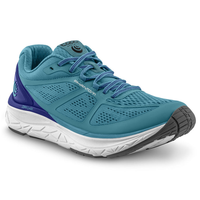 Women's Topo Athletic Phantom Road Running Shoes - Aqua/Cobalt