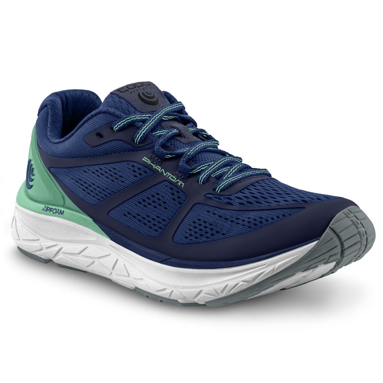 Women's Topo Athletic Phantom Road Running Shoes - Cobalt/Seafoam