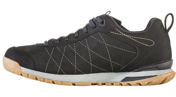 Oboz Women's Bozeman Low Leather - Black