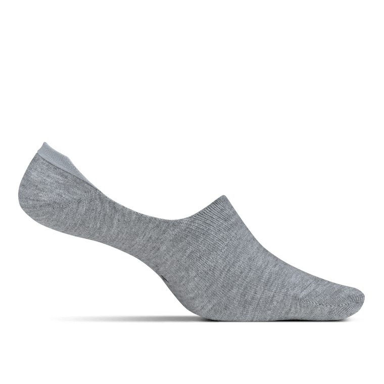 Feetures Women's Hidden Socks - Lt Grey