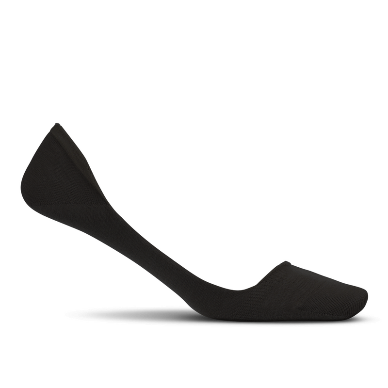 Feetures Women's Hidden Super Low Socks - Black