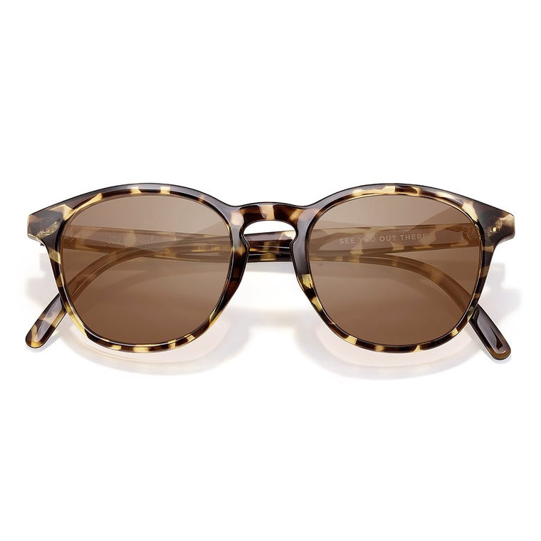 Sunski Yuba Sunglasses - Tortoise Amber