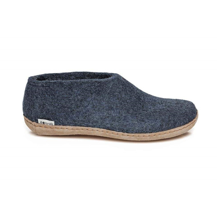 Glerups Model A Shoe Slippers - Denim