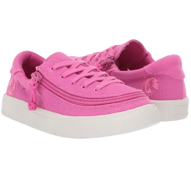 Kid's BILLY Footwear Classic Lace Low - Pink Raspberry