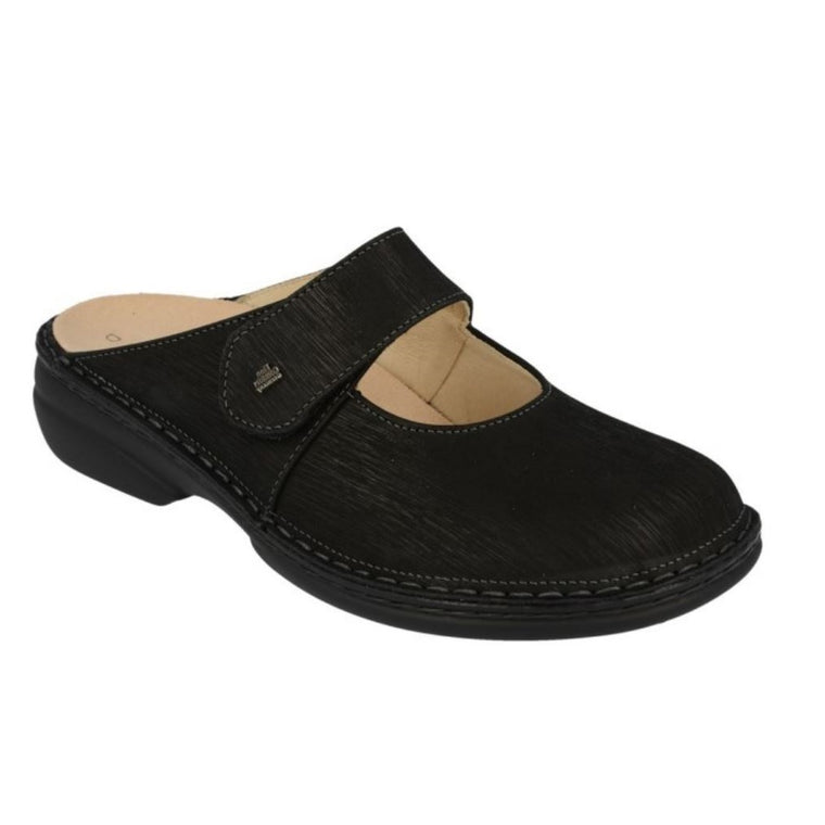 Women's Finn Comfort 2552 Stanford Mule - Black Waving