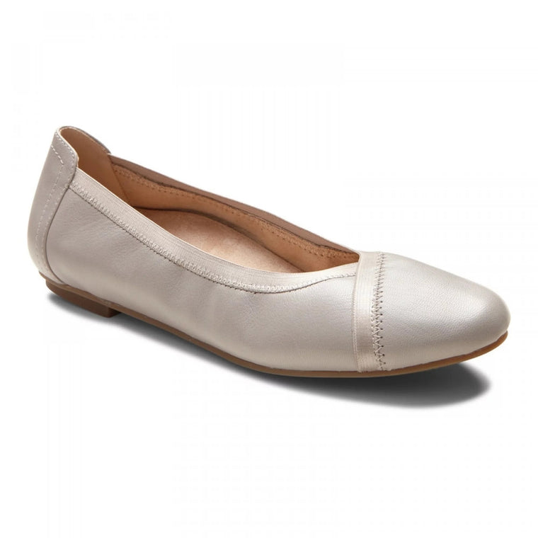 Women's Vionic Caroll Ballet Flat - Light Grey