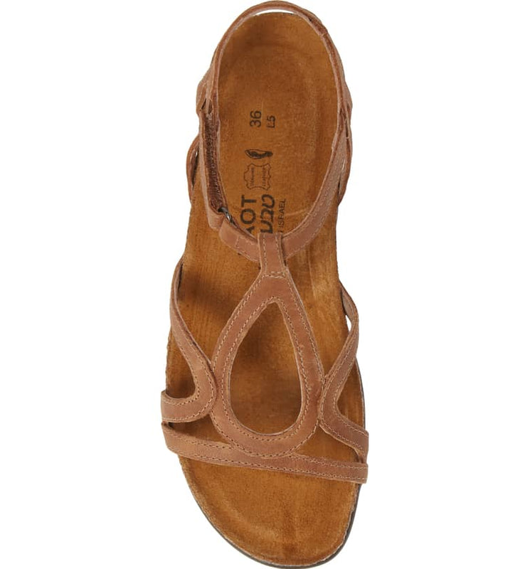 Women's Naot Dorith - Latte Brown Leather