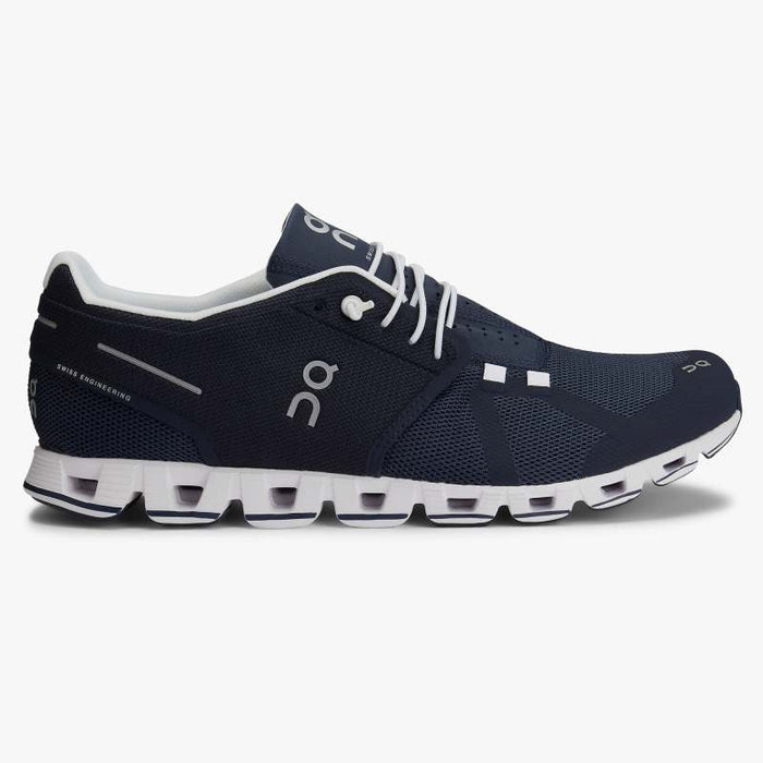 On Men's Cloud Active Shoes - Navy/White