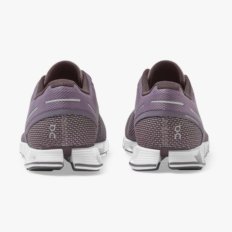 On Women's Cloud Running Shoes - Shark/Pebble