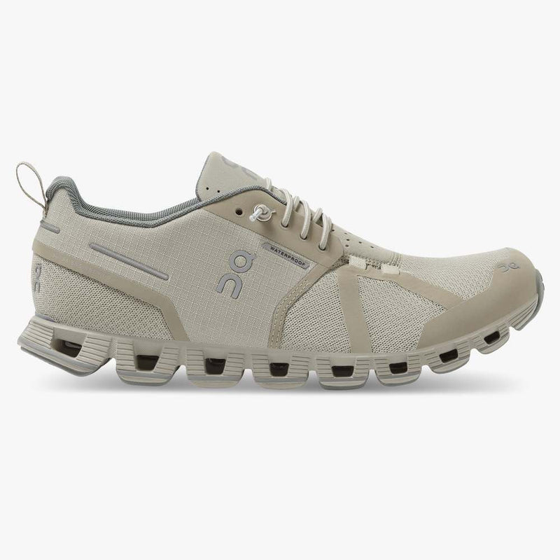 Women's On Cloud Waterproof Running Shoes - Desert/Lunar