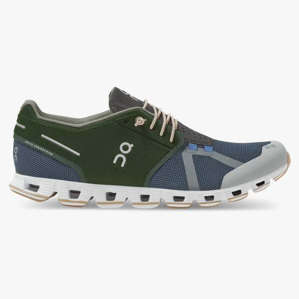 On Men's Cloud 70/30 Running Shoes - Cactus/Storm