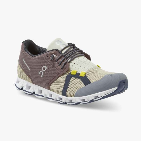 On Women's Cloud 70/30 Running Shoes - Grape/Sand