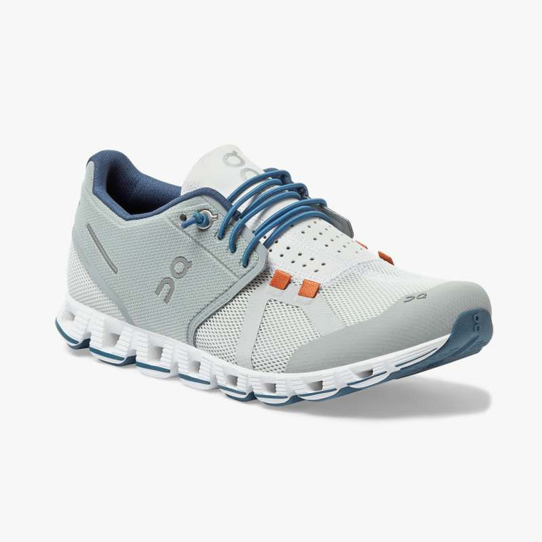 On Women's Cloud 70 | 30 Running Shoes - Mist/Sapphire