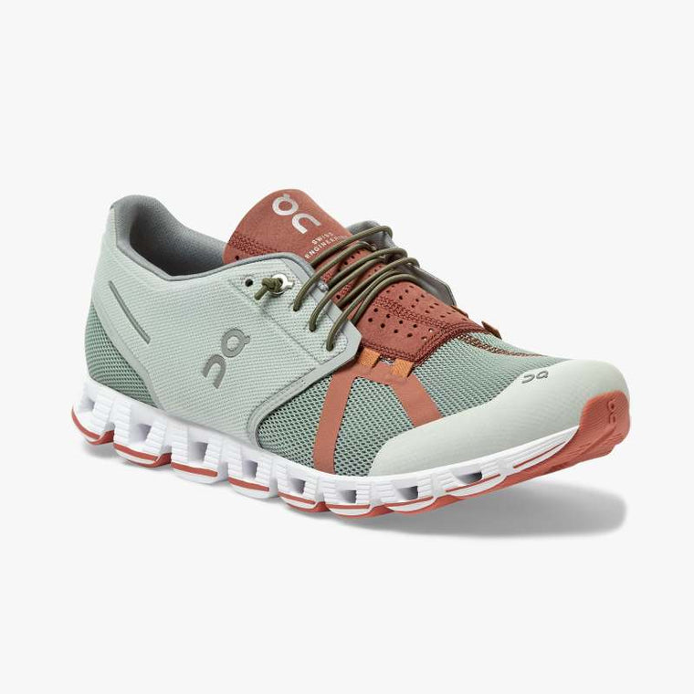 On Men's Cloud 70 | 30 Running Shoes - Moss/Hazel