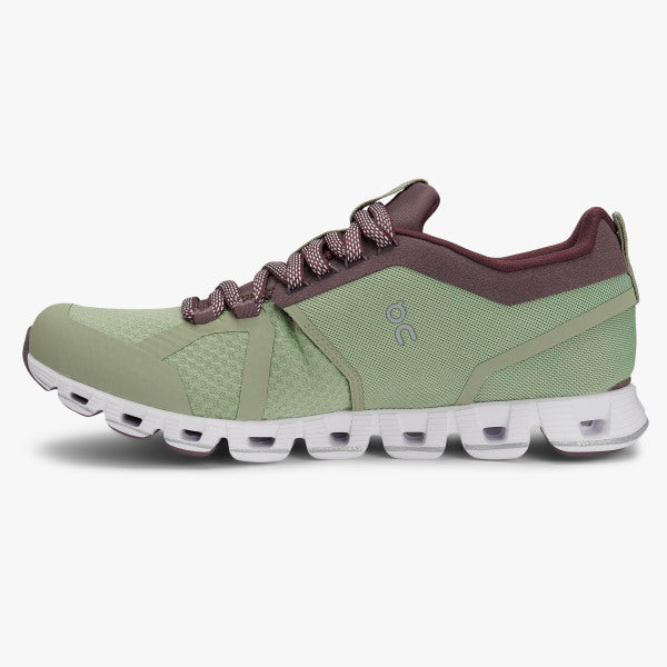 Women's On Cloud Beam Running Shoes - Leaf/Grape