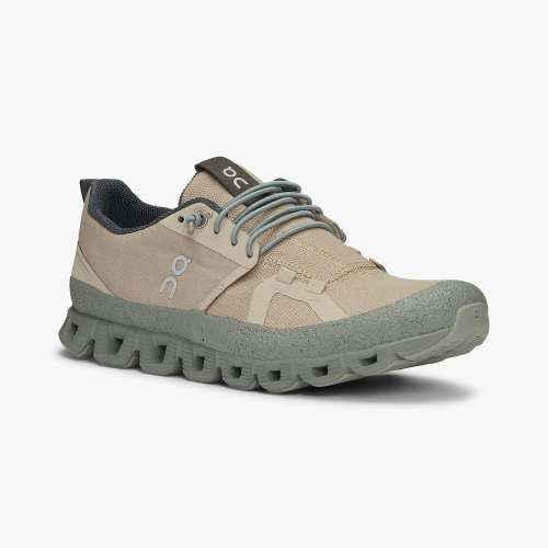 On Women's Cloud Dip Shoes - Sand/Kelp