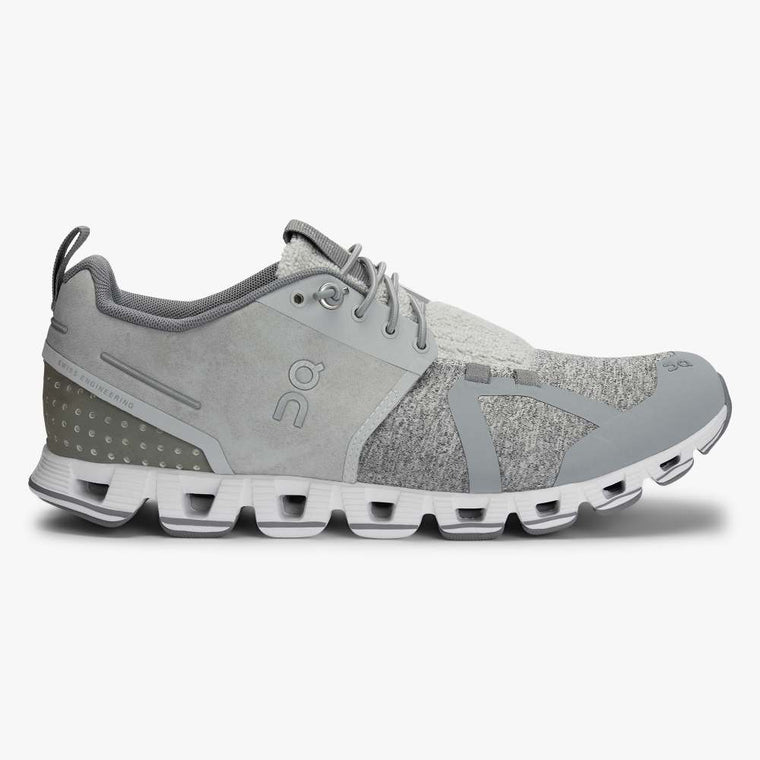 On Women's Cloud Terry Active Shoes - Silver