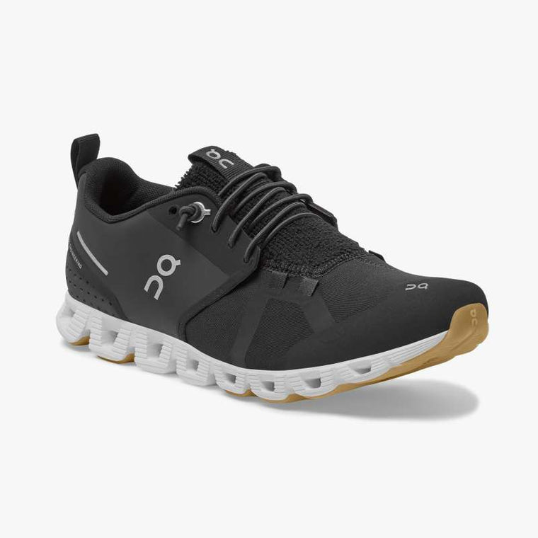 On Women's Cloud Terry Running Shoes - Black/White